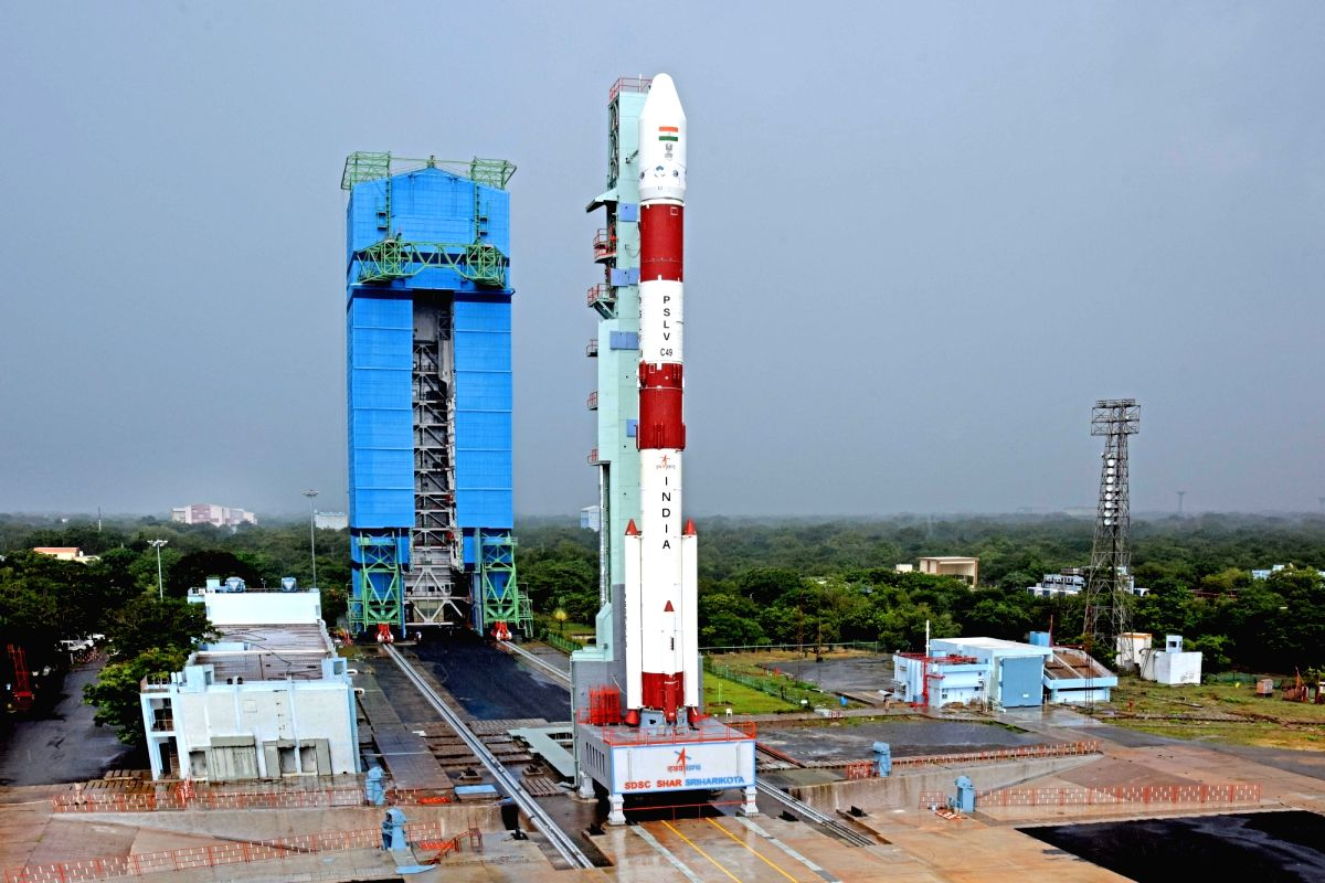 Countdown for launch of India's radar imaging satellite begins on Friday.(photo:www.isro.gov.in)
