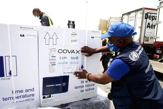 COVAX delivers over 20mn doses to 20 nations