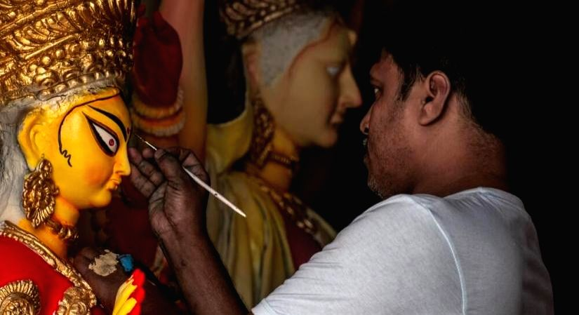 Covid-19 dampens Navratri, Durga Puja celebrations.(Photo: Unsplash)