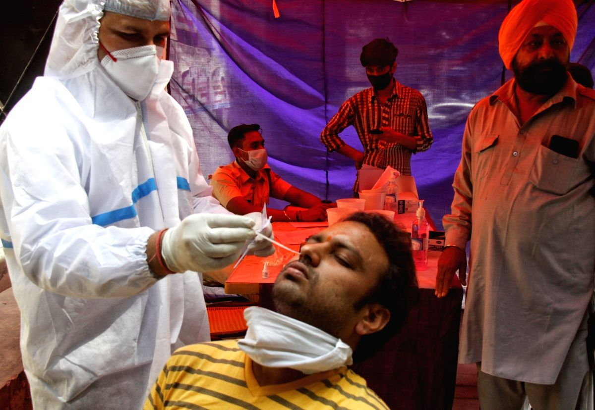 Another grim record, India reports 3.32L cases and 2,263 deaths