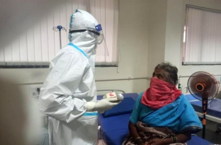 Covid tally crosses 21-lakh mark in K'taka with 373 deaths.