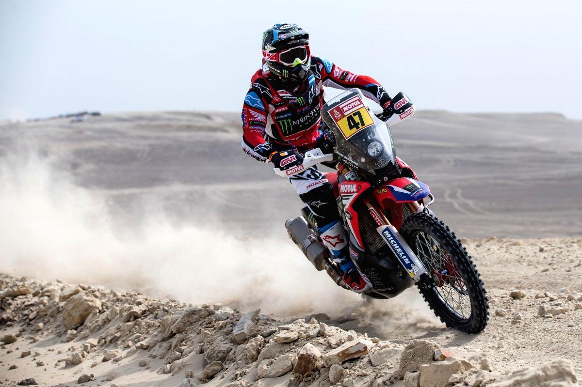 Dakar Rally 2021: Benavides takes lead after Cornejo's crash