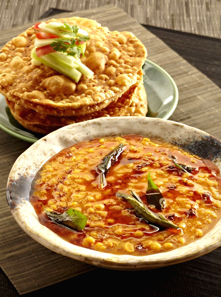 Along with halwa, people prepare dal and poori also. This is part of a traditional custom and it is followed to this day.