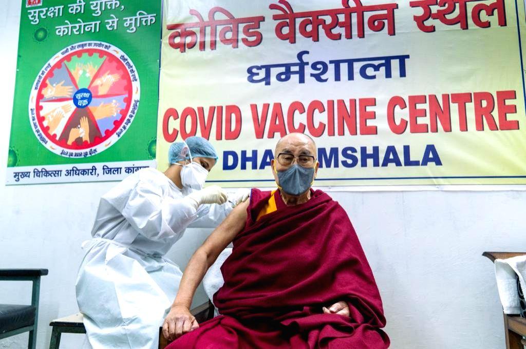 Dalai Lama takes first dose of coronavirus vaccine