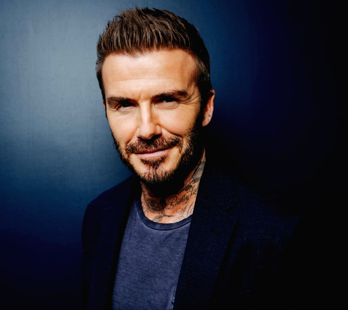 David Beckham on making healthy living way of life.