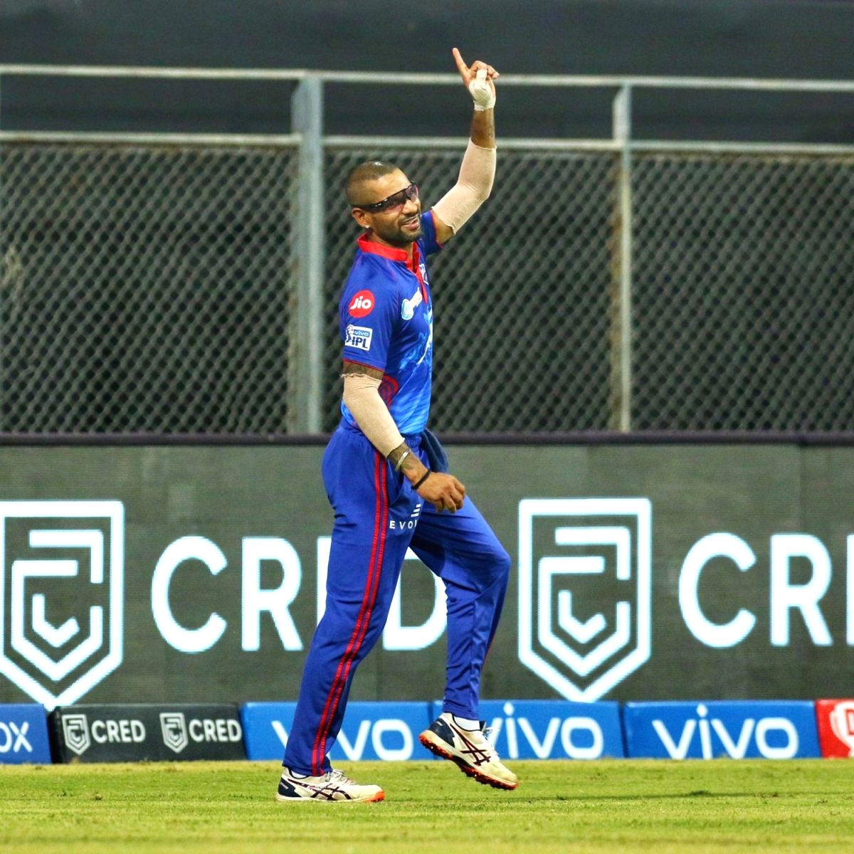 DC's Shikhar Dhawan appeals to people to donate blood plasma.(photo:BCCI/IPL/Not for sale)