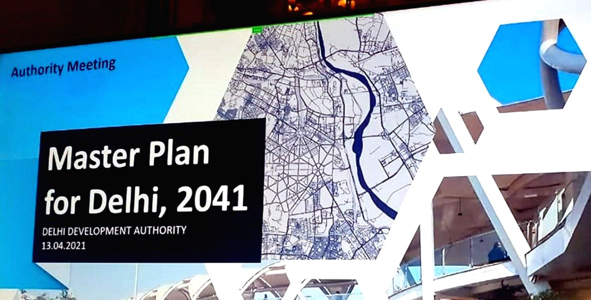 DDA gives preliminary nod to Master Plan for Delhi-2041adha (Credit : @LtGovDelhi/twitter)
