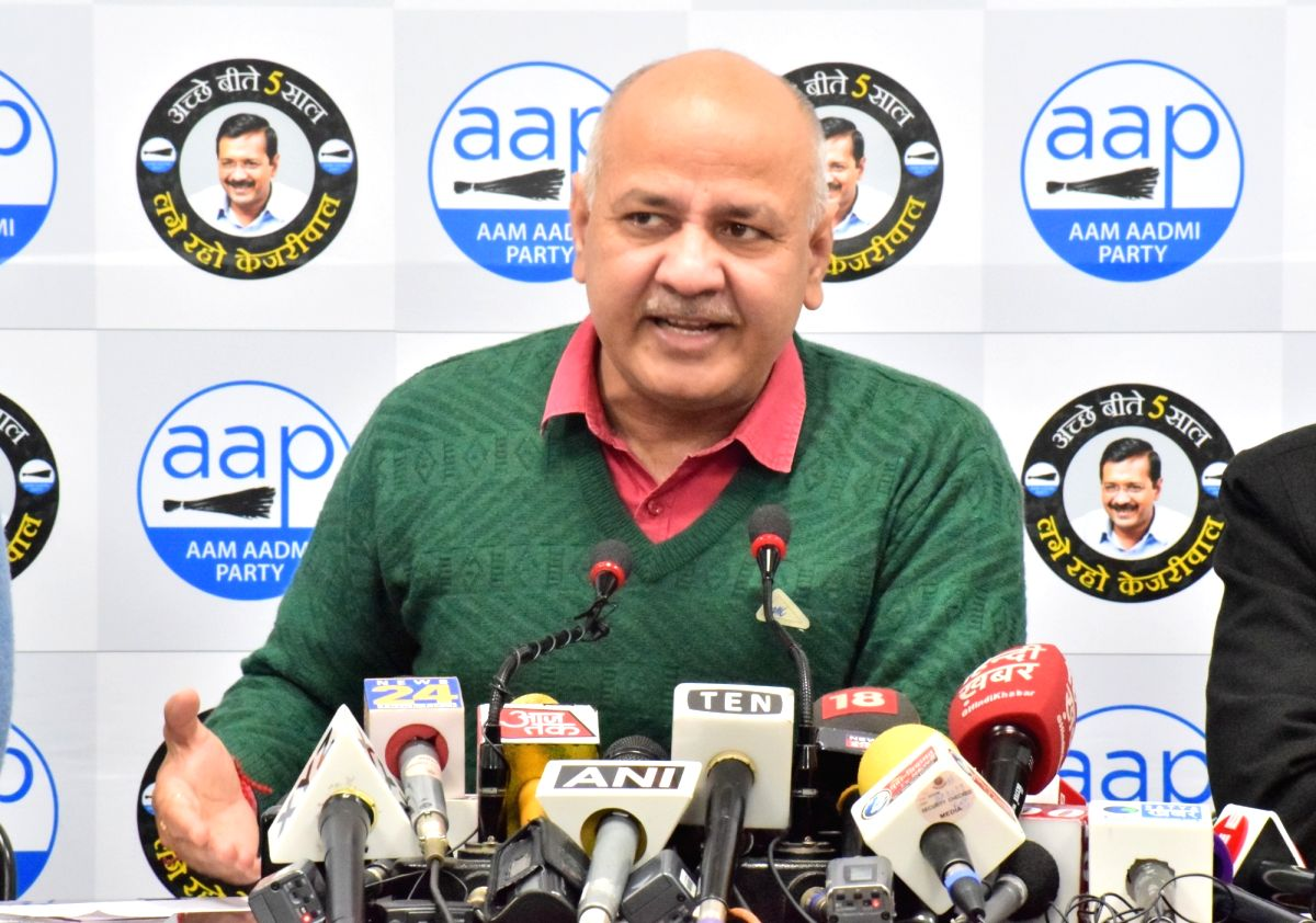 Delhi Deputy Chief Minister and AAP leader Manish Sisodia