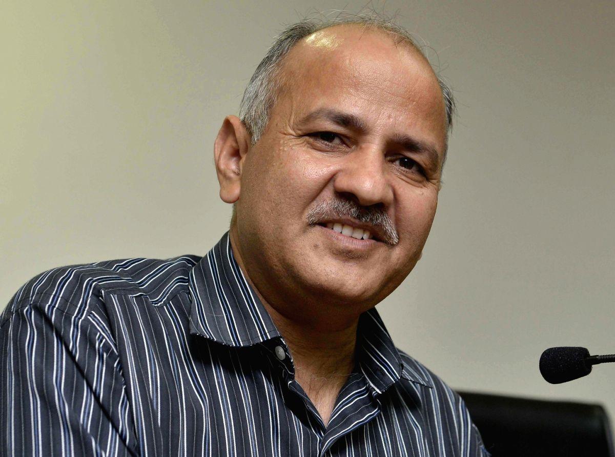 Delhi Deputy Chief Minister Manish Sisodia. (Image Source: IANS)