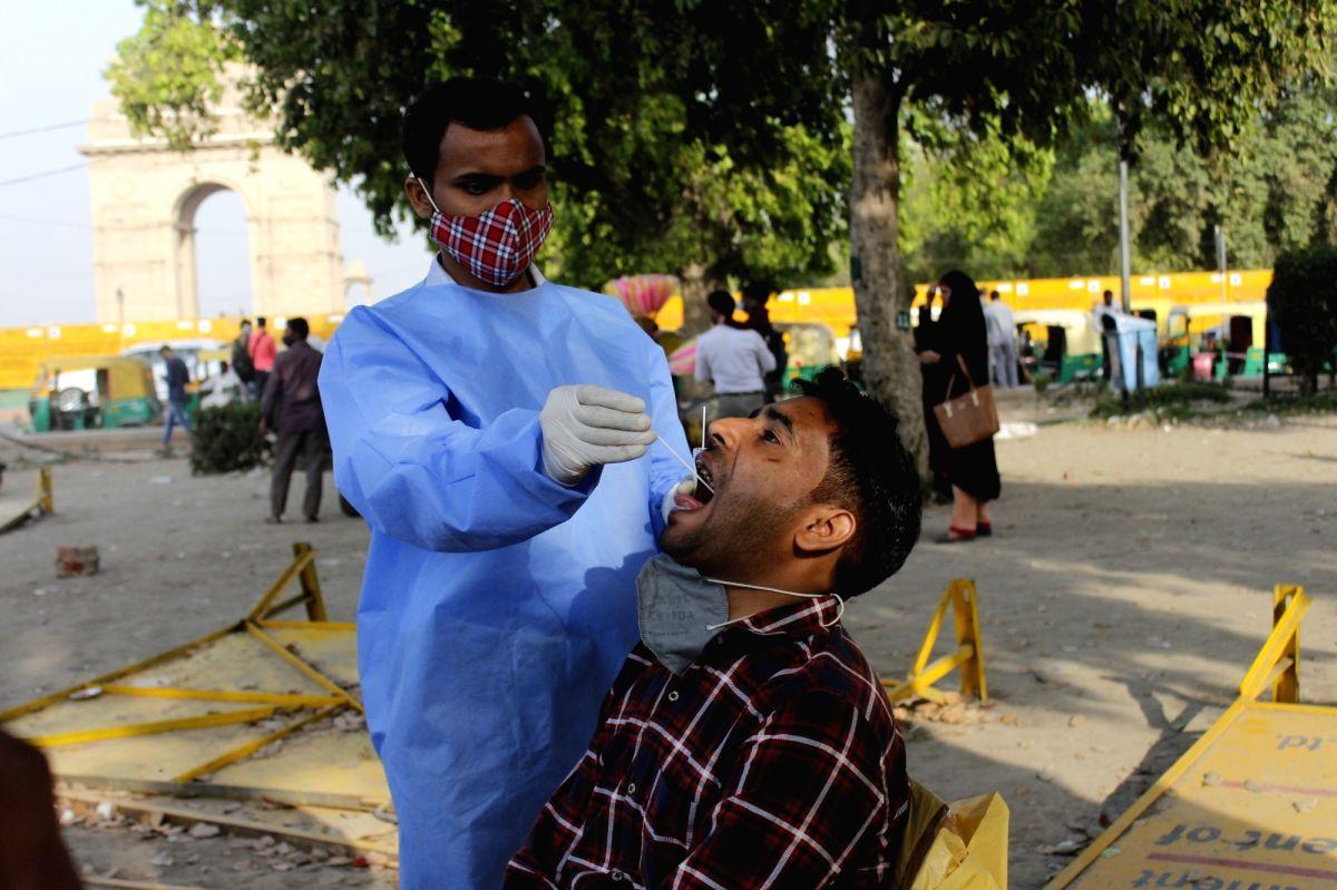 Delhi logs 813 fresh Covid cases, positivity rate 1.07%