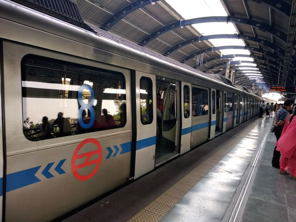 Delhi Metro. (Image Source: IANS)
