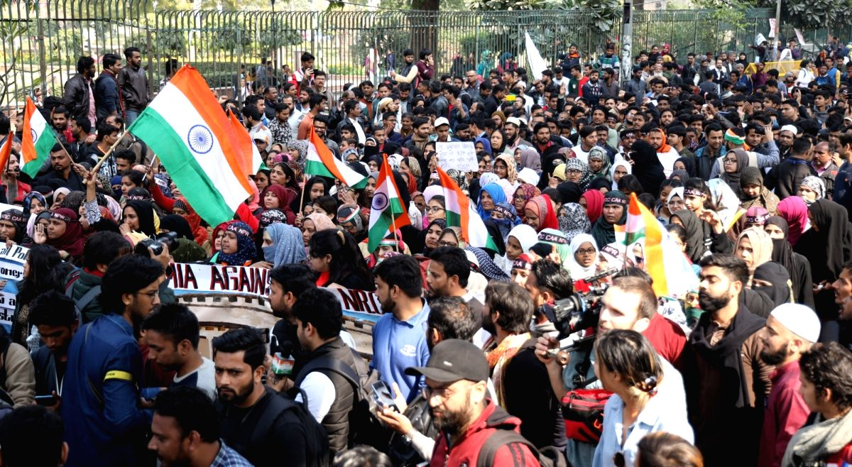 Delhi Police files chargesheet in Jamia violence case.