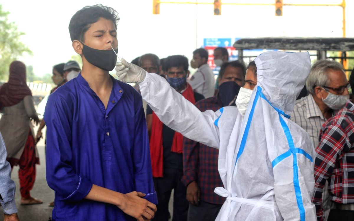 India reports 43K new Covid cases, 640 deaths