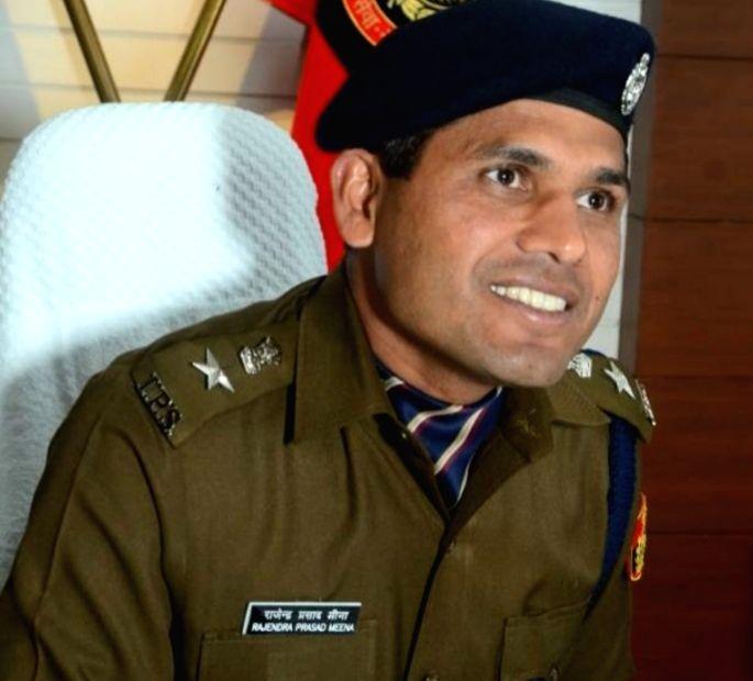 Deputy Commissioner of Police (South East) R.P. Meena. (Photo: Sanjeev Kumar Singh Chauhan)