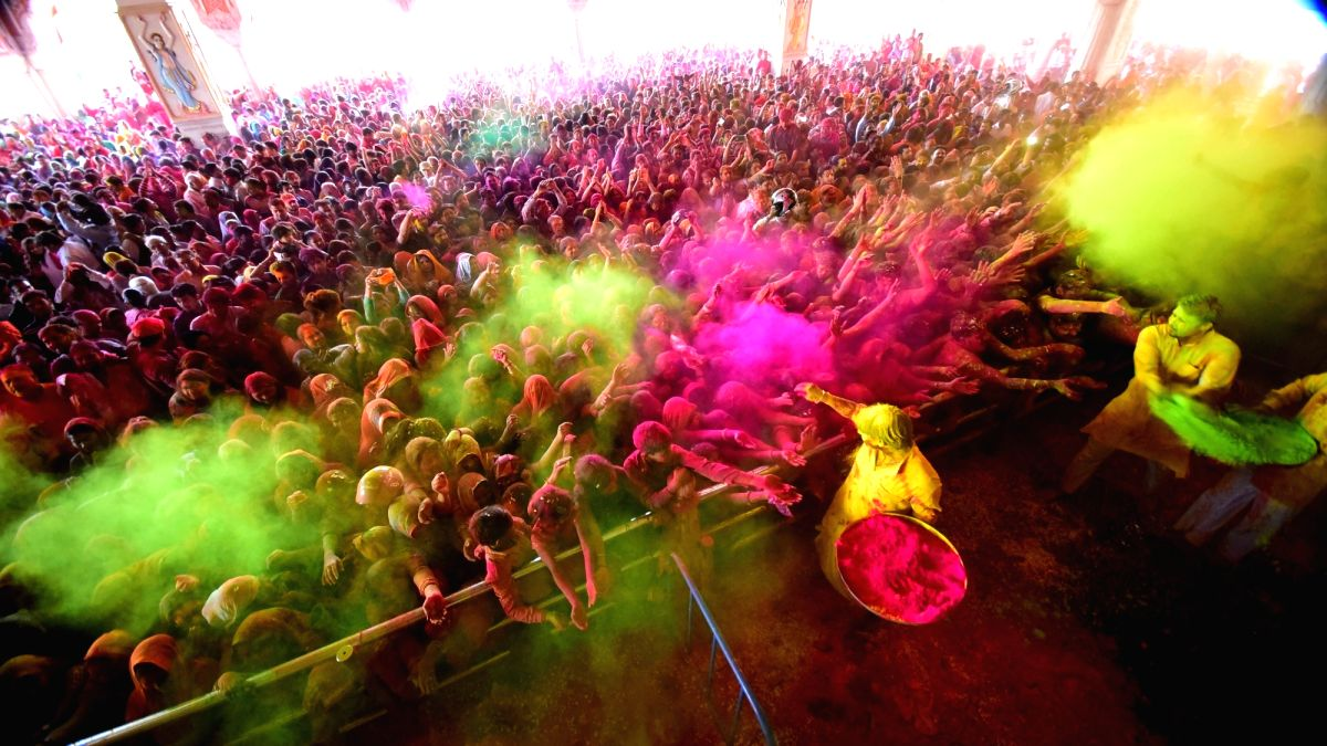 The festival of colours has finally arrived resounding the message of the victory of good over evil, in all forms.
