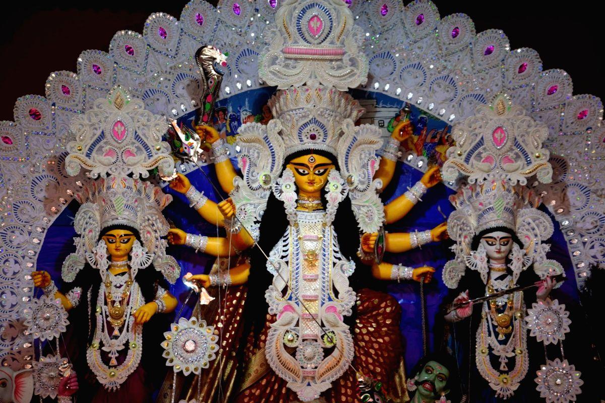 Devotees throng Himachal temples as Navratri begins.