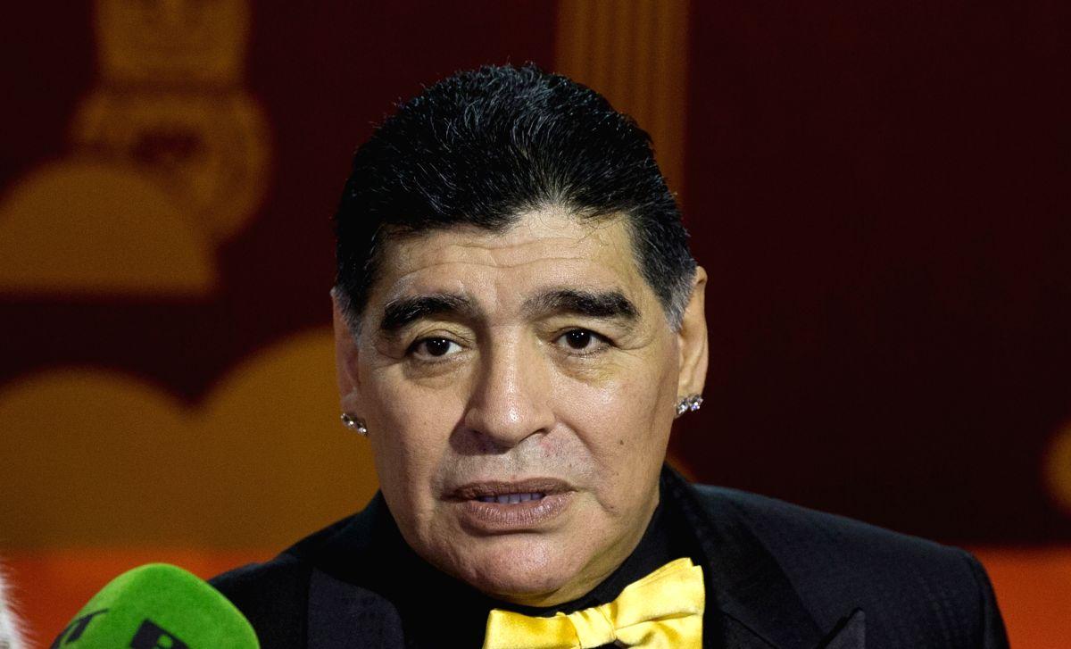 Diego Maradona. (Image Source: IANS)