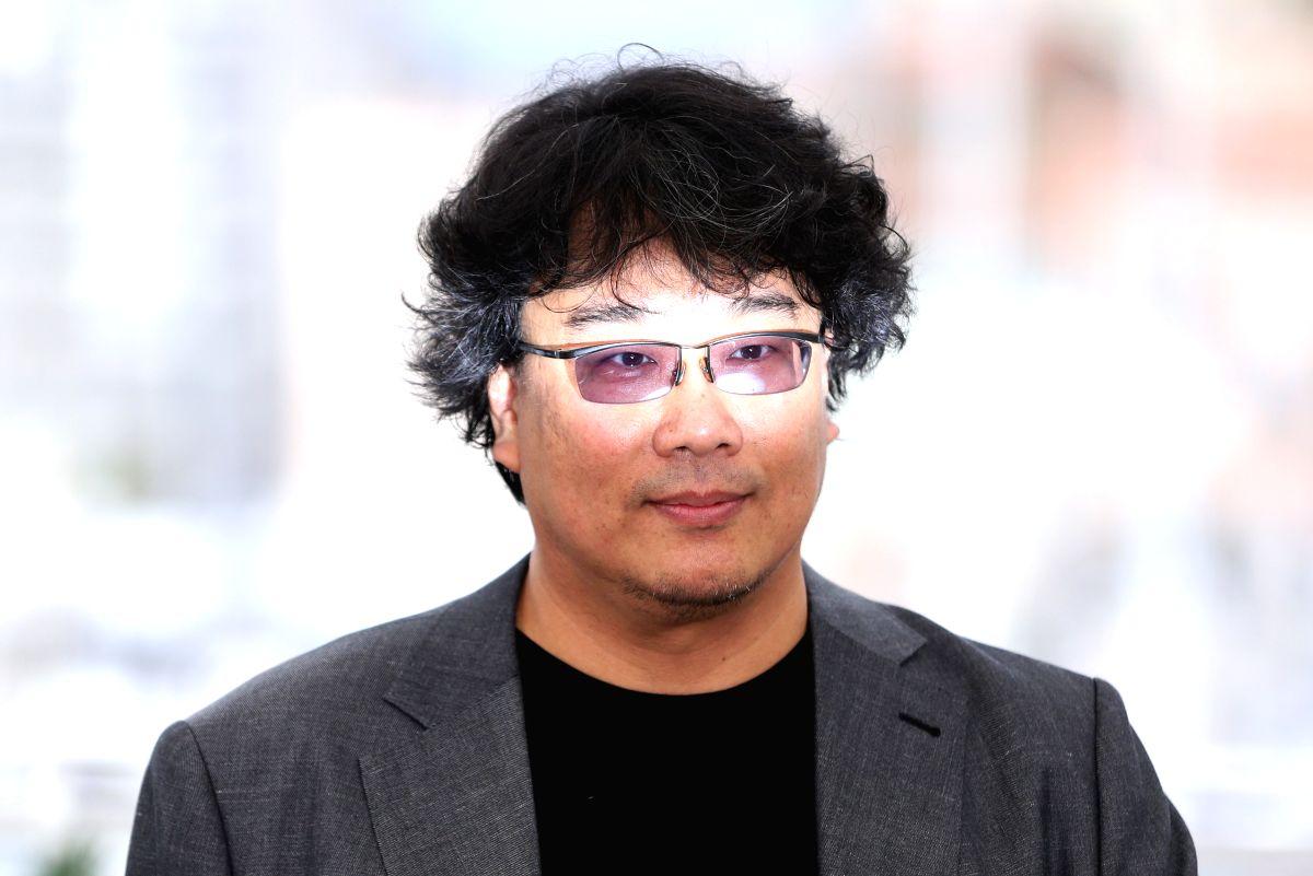 Director Bong Joon-ho poses