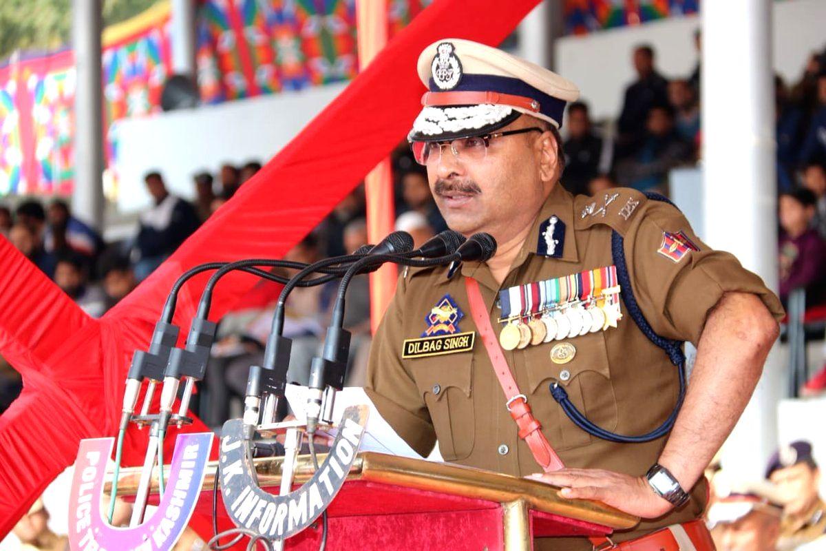 Director General of Police (DGP) Dilbag Singh.