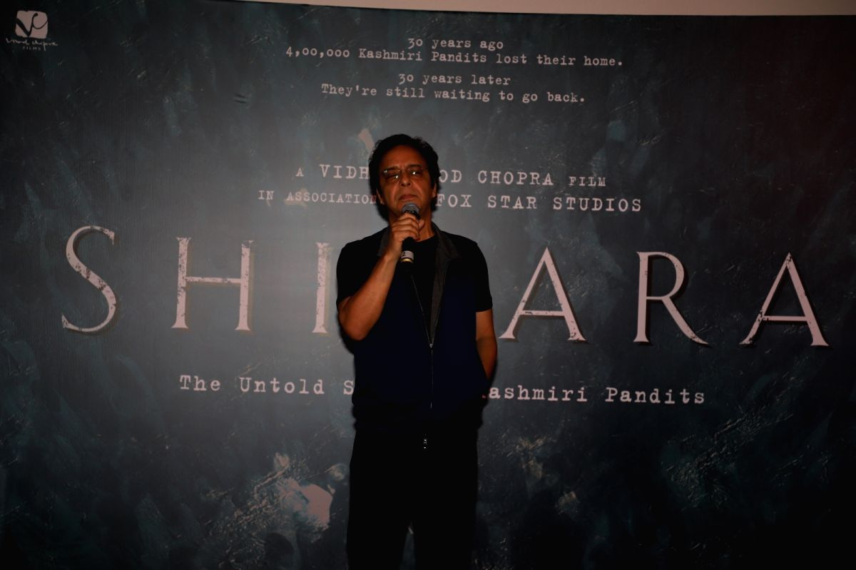 Director Vidhu Vinod Chopra