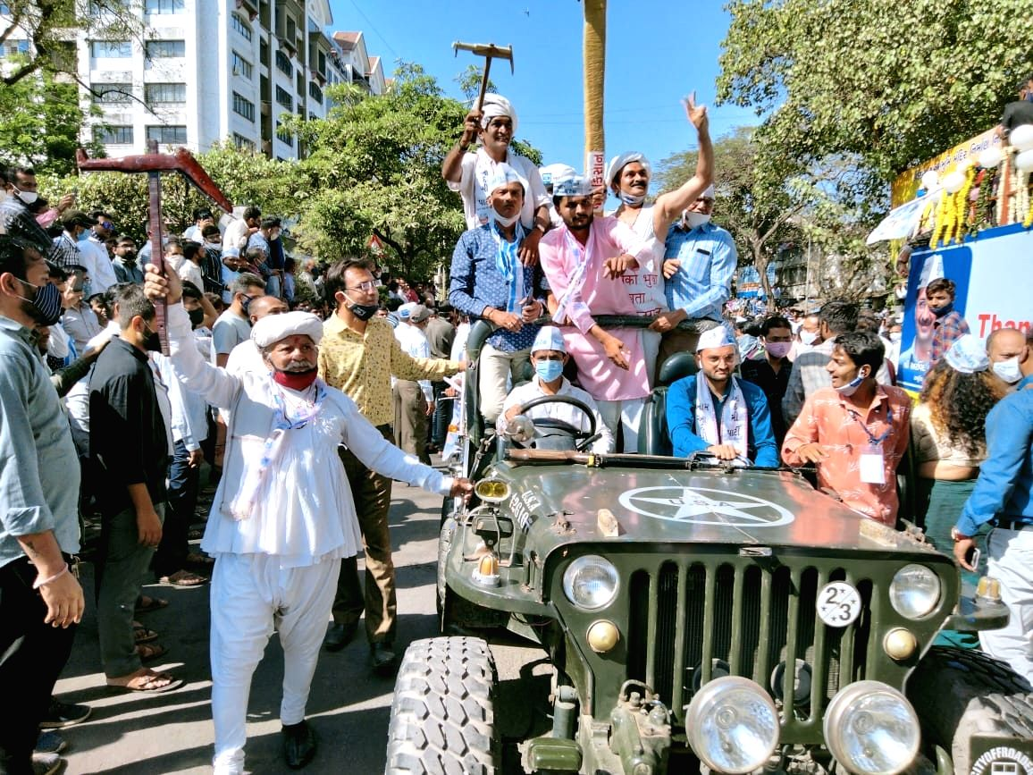 AAP looking to be the main opposition in Gujarat