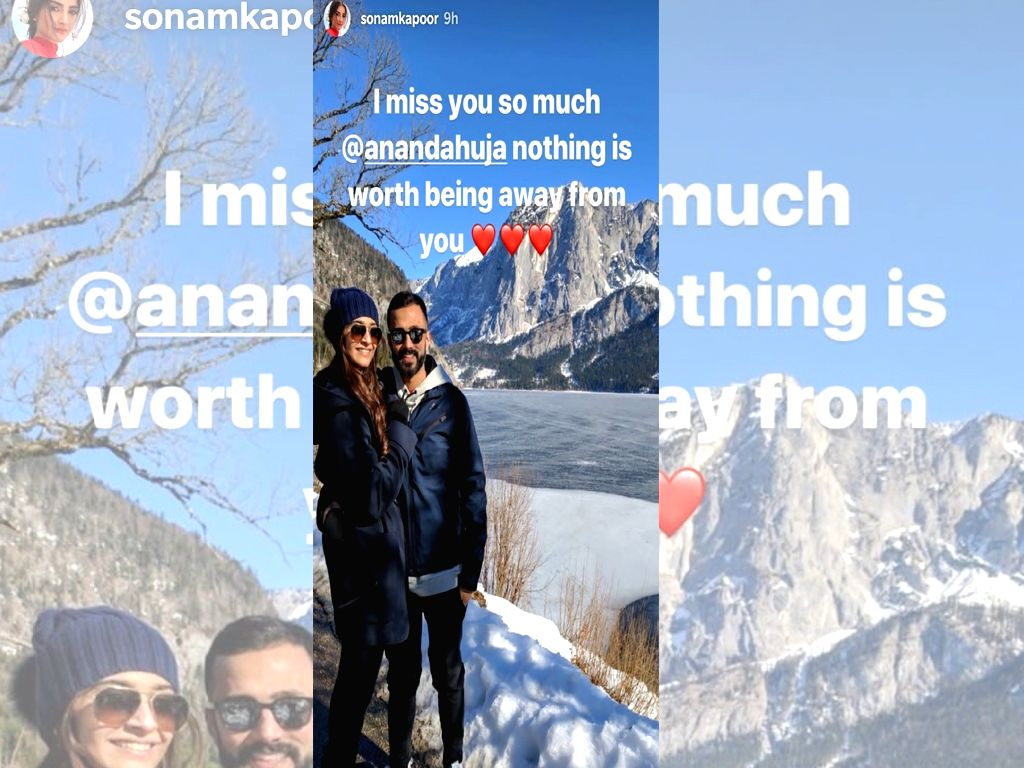 Due to work commitments, actress Sonam Kapoor Ahuja and her husband Anand Ahuja spend a lot of time apart from each other. But they both know very well how to keep their love going strong amidst long distance.