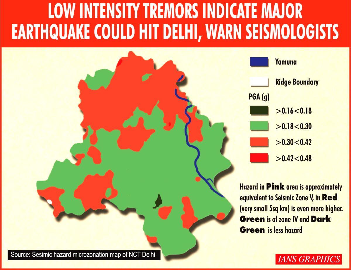 Earthquake. (IANS Infographics)