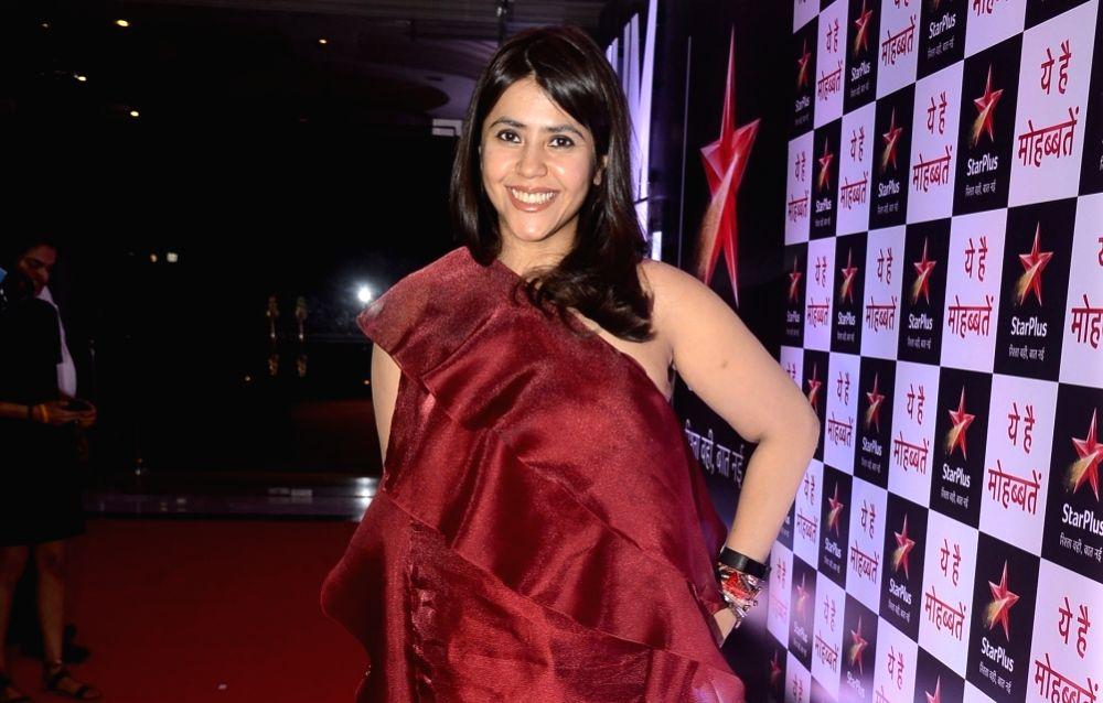 Ekta Kapoor. (Image Source: IANS)