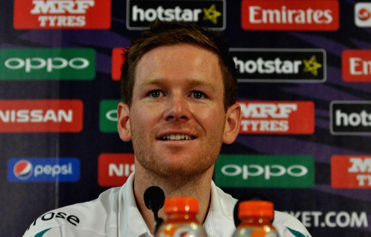 English captain Eoin Morgan