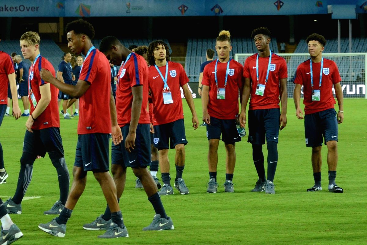 FIFA U17 World Cup -  Practice Session - England