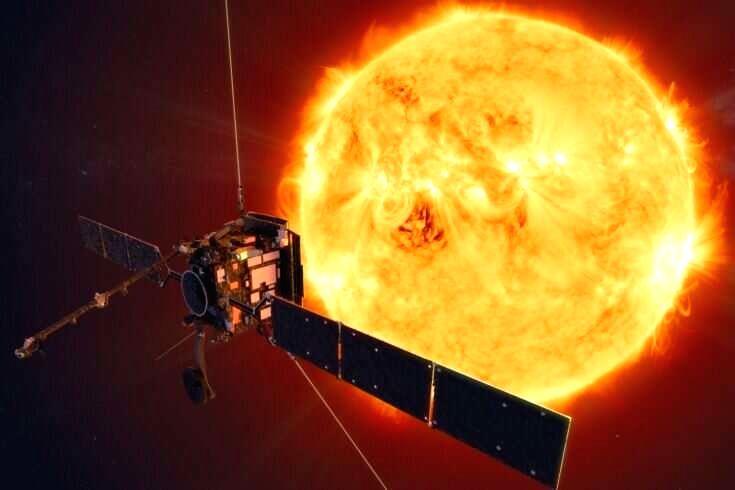 ESA's Solar orbiter mission ( Credit: ESA/ATG medialab/twitter)