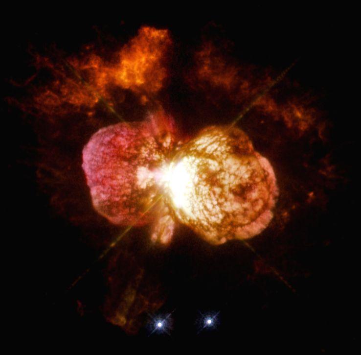 Massive, dusty star-forming galaxy (Representational image)