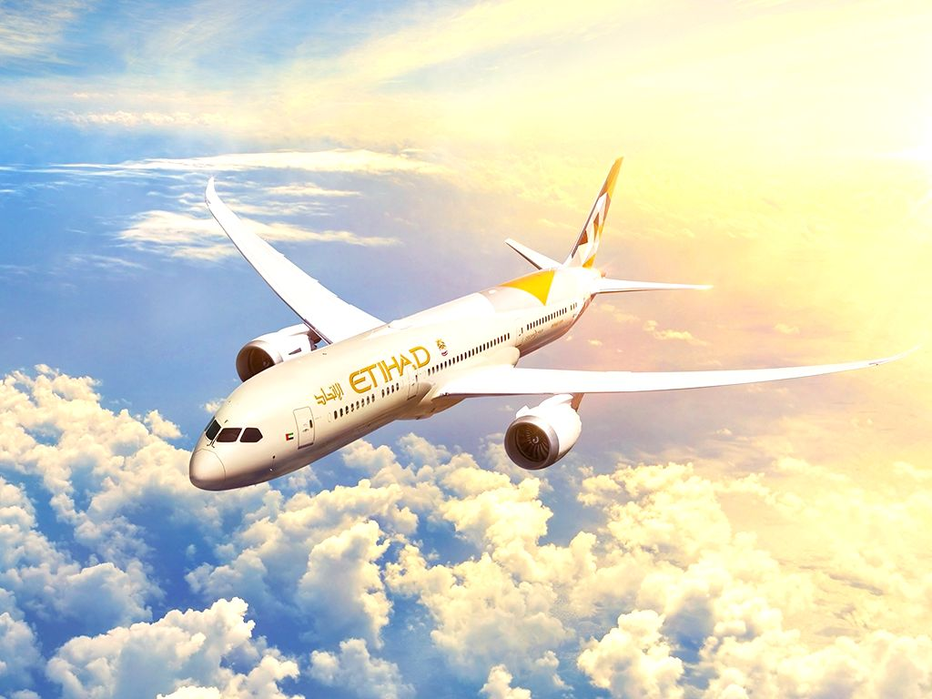Etihad Airways. (Photo: twitter@etihad)