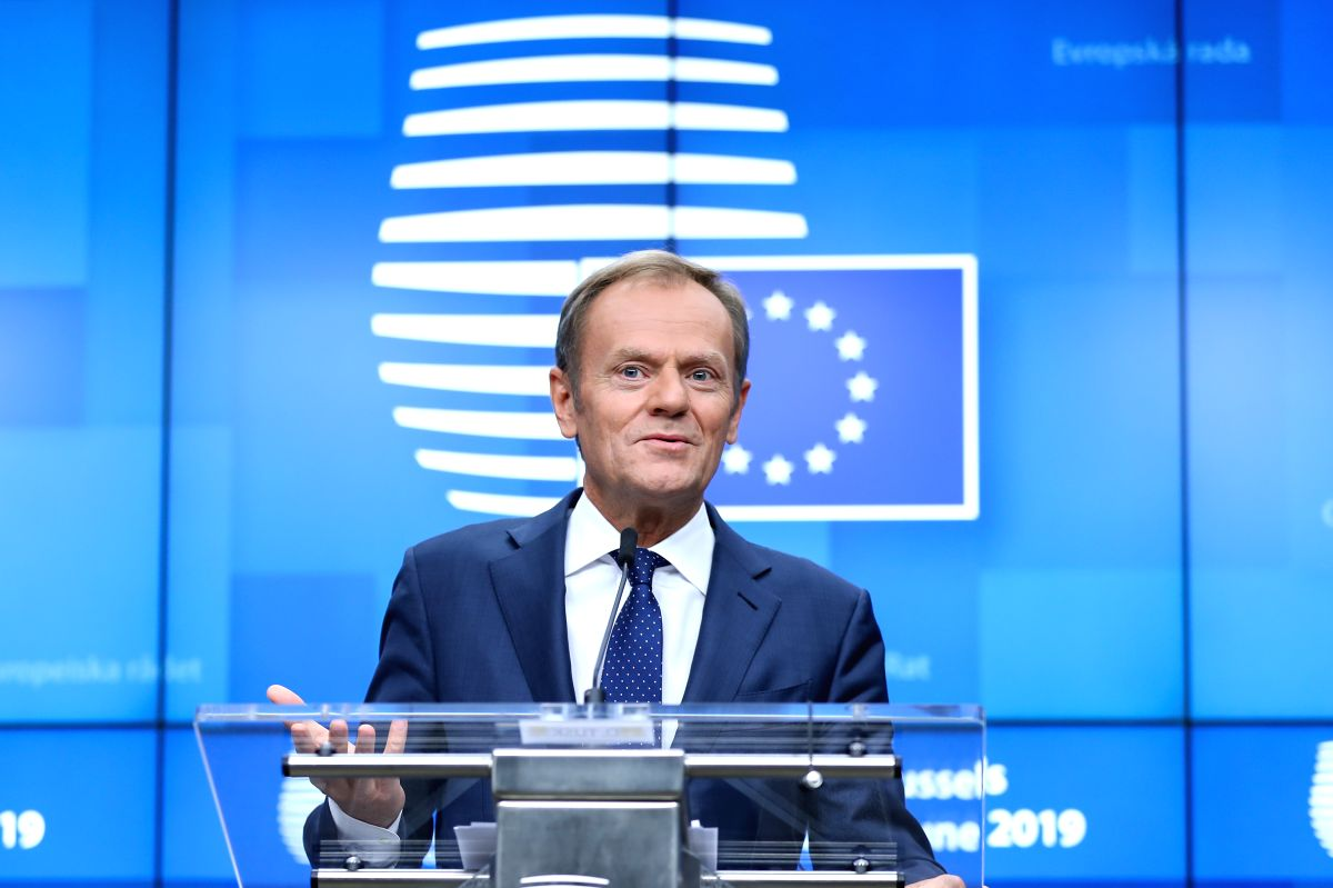 European Council President Donald Tusk. (Xinhua/Zhang Cheng/IANS)