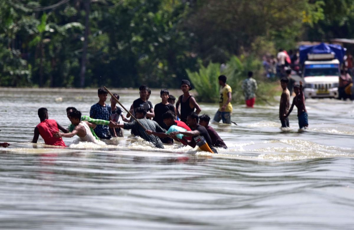 Even as the flood situation largely improved in Assam, at least nine people have died since last week in the current wave of pre-monsoon floods, officials said on Monday.