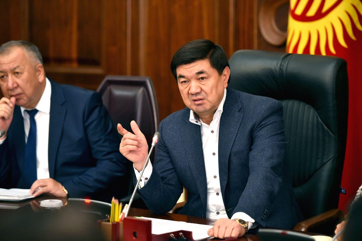 Ex-Kyrgyz PM detained on suspicion of corruption (Photo by Roman/Xinhua/IANS)