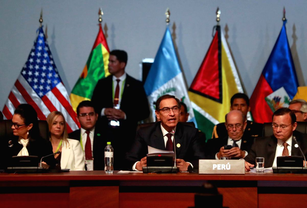 Ex-Peru Prez barred from politics over early jab