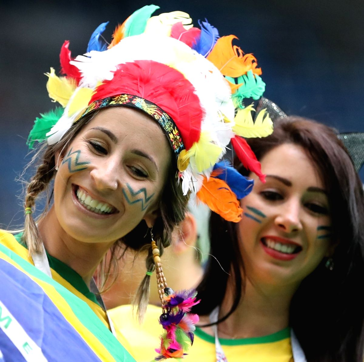 Brazil eats, sleeps and drinks football!
