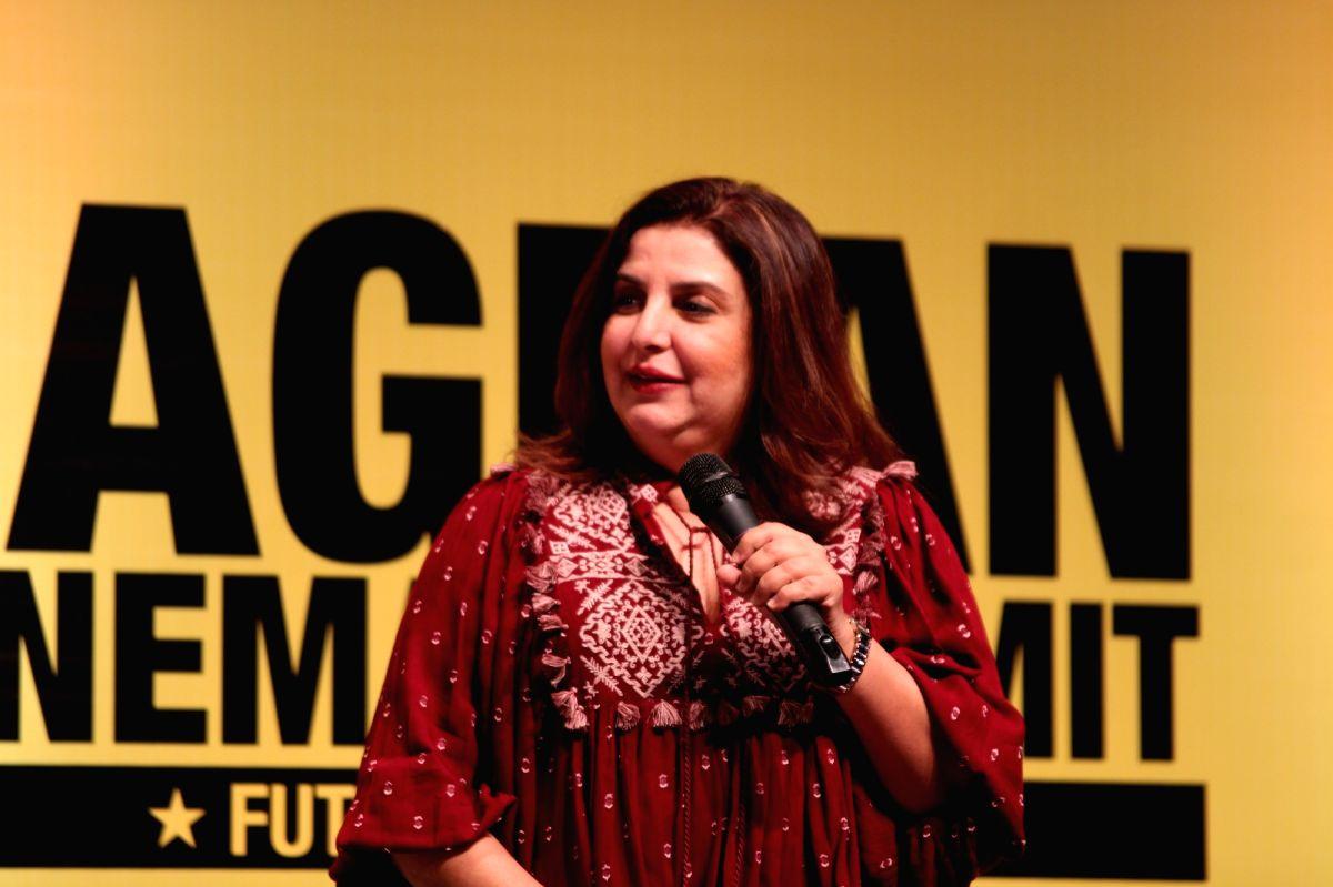 Farah Khan. (Photo: Amlan Paliwal/IANS)