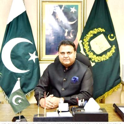 Fawad Chaudhry. (Photo: Twitter/@fawadchaudhry)