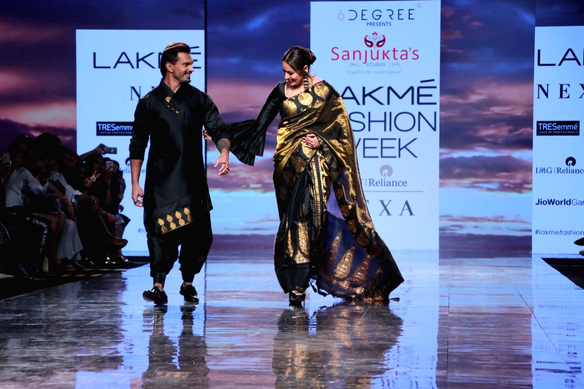 February 14 Feb 14 (IANSlife) Several Bollywood stars walked the ramp on the third day of the Lakme Fashion Week Summer/Resort 2020 on Friday.