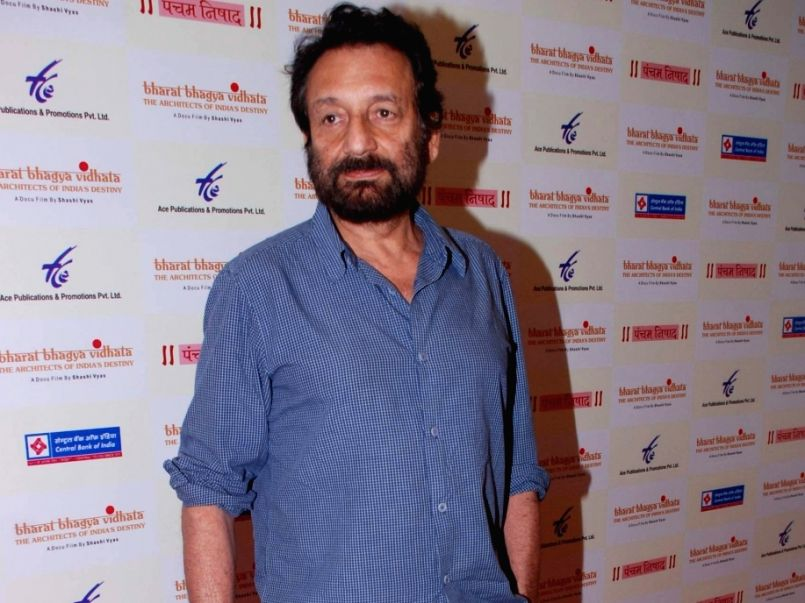 Film director Shekhar Kapur