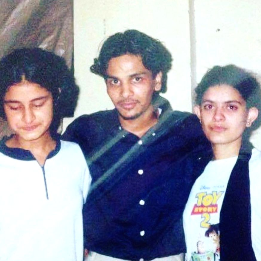 Filmmaker and popular casting director Mukesh Chhabra on Monday shared a major throwback from his younger days, where he is seen sporting a haircut that harks back to actor Rahul Roy's style in the 1990 superhit, Aashiqui.