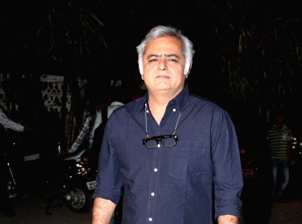 Filmmaker Hansal Mehta