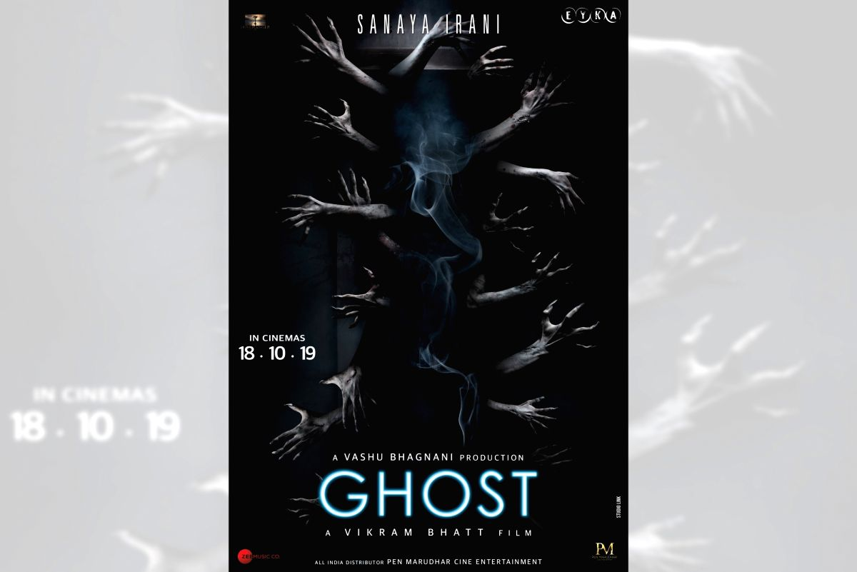 """Filmmaker Vikram Bhatt is back with another horror film, after giving hits like """"1920"""" and """"Raaz"""". He has unveiled the official posters of his upcoming spine-chiller """"Ghost""""."""