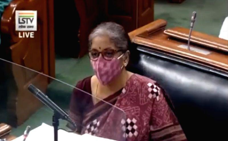 Finance Minister Nirmala Sitharaman. (Photo: twitter@nsitharamanoffc)