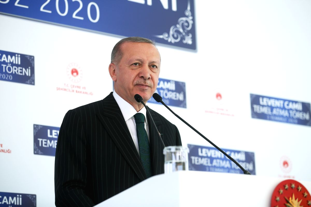 First prayers in Hagia Sophia on July 24: Erdogan (Ld)