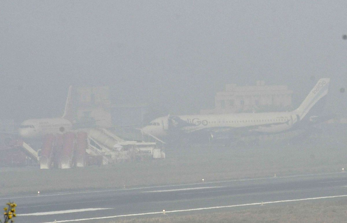 Fogged out: Low visibility at IGIA leads to over 40 flight delays