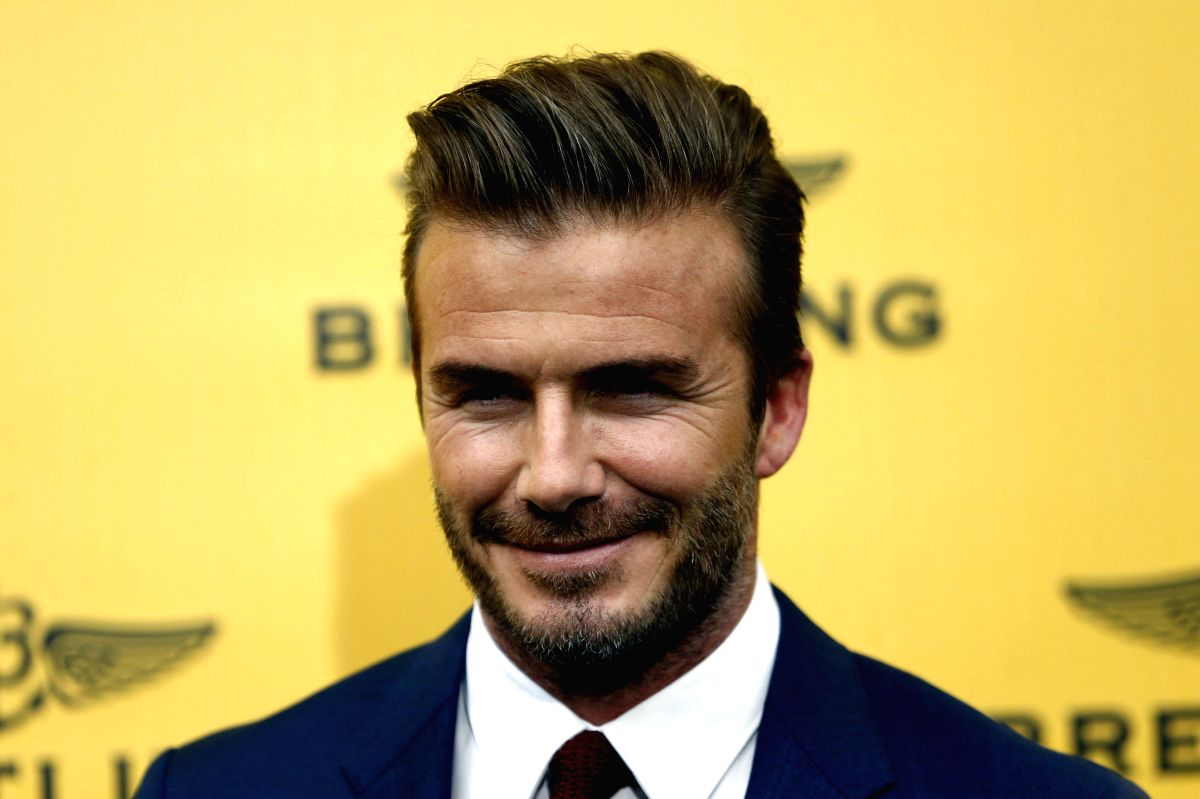""":Los Angeles, Oct 2 (IANS) Former footballer David Beckham says his wife Victoria has developed a great """"love"""" for """"tequila""""."""