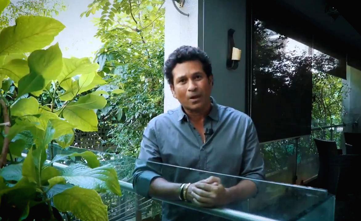 Former Indian cricketer Sachin Tendulkar on Wednesday saluted the Father of the Nation Mahatma Gandhi on his 150th birth anniversary.